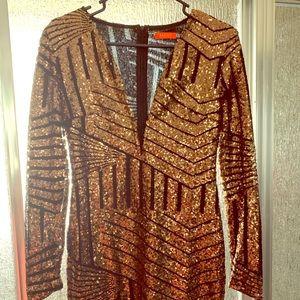 A sequence dress
